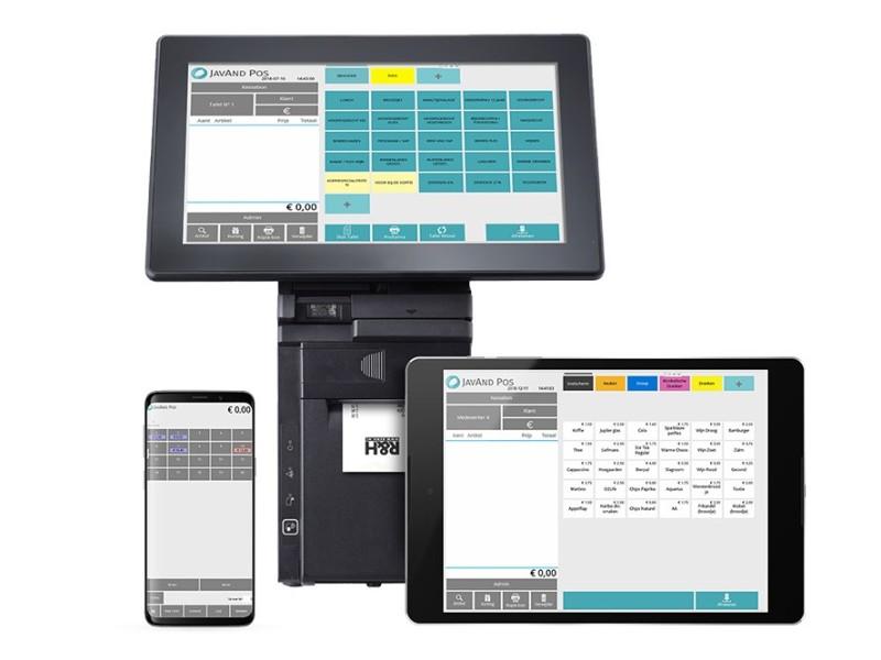 touchscreen kassasystemen