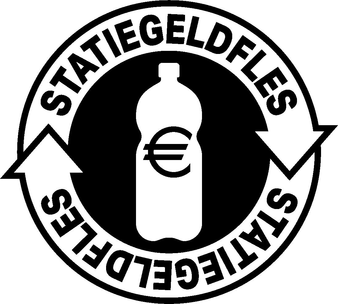 statiegeld statiegeldfles logo