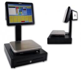 R&H CASPos touchscreen weegschalen