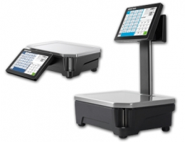 R&H Mettler Freshbase touchscreen weegschaal