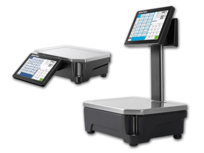 R&H Mettler Freshbase touchscreenweegschalen