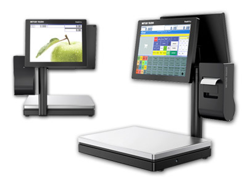 R&H Mettler Freshway Touchscreen weegschaal