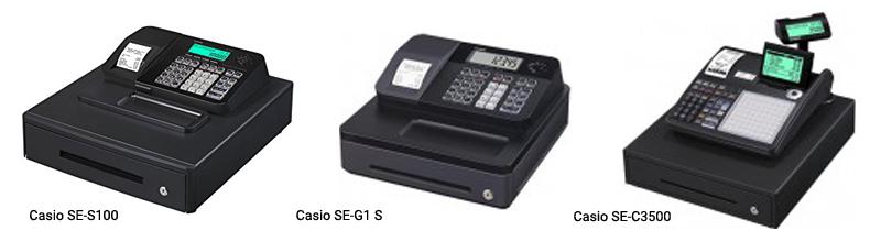 Verschillende Casio kassa 2e4898f65a