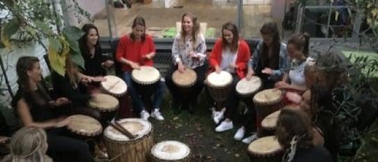 workshop djembé ritmus