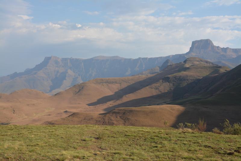 Uitzicht Drakensbergen