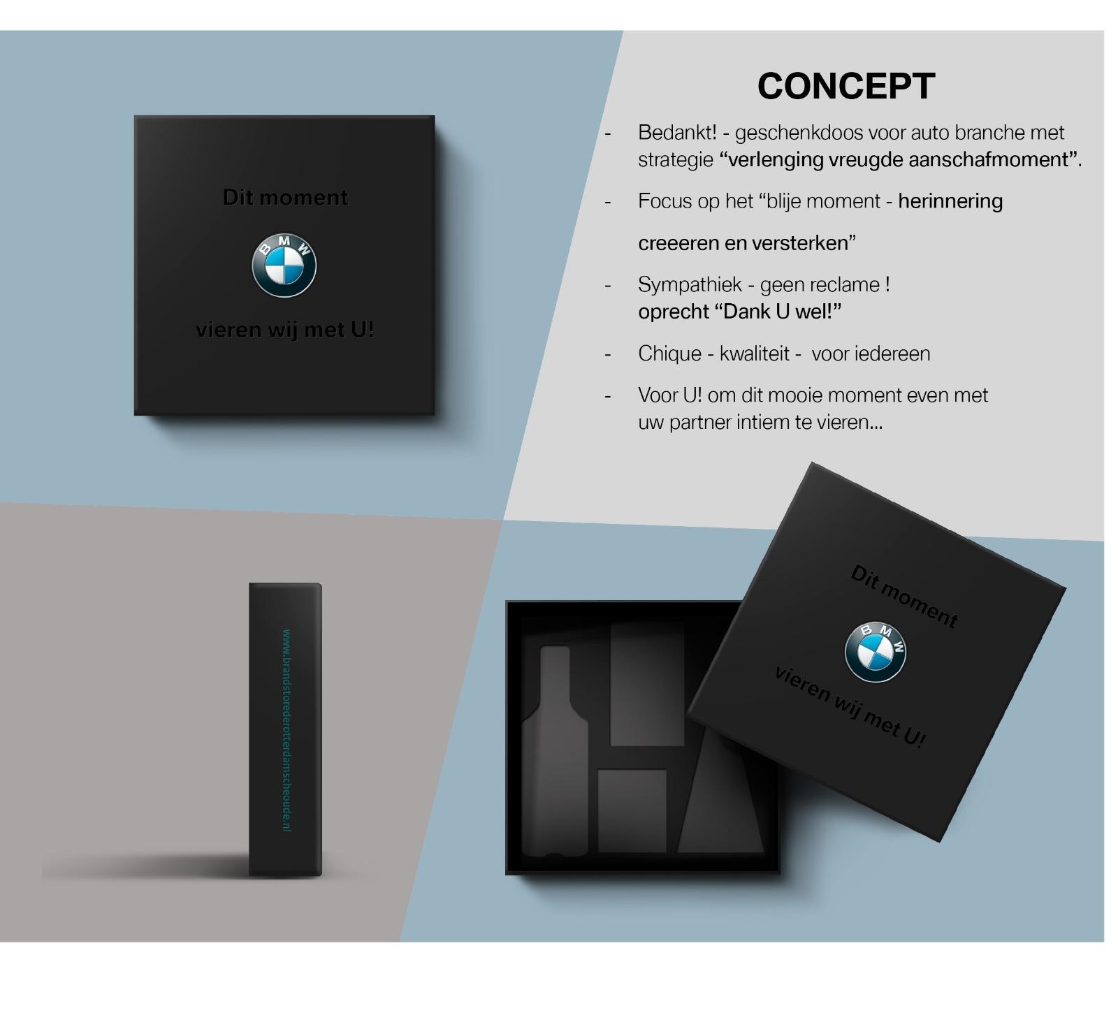 Corporate Design relatiepakket Rotterdam