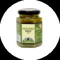 Rotterdamsche Oude mosterd dille saus