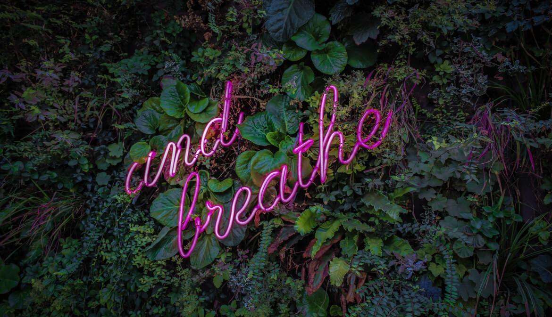 Opgelucht ademhalen