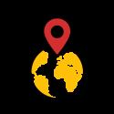 SalesPassie - Icon locatie