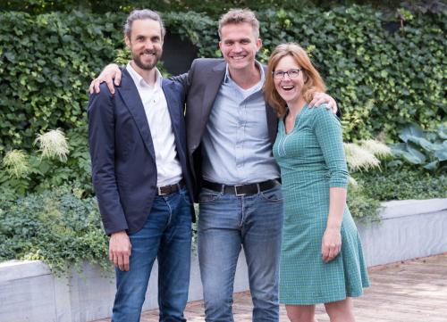 Robert Tannemaat, Adrian Roest en Karien Dommerholt