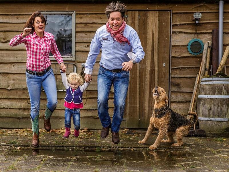 Familiefoto's op documentaire wijze, dus niet geposeerd maar zoals jullie echt zijn