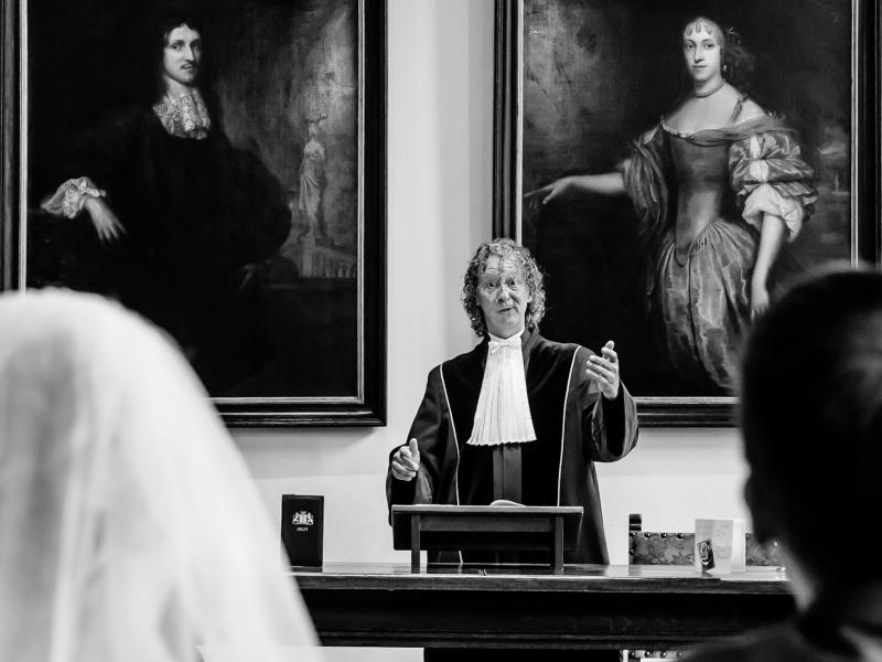 Trouwen in het stadhuis van Delft
