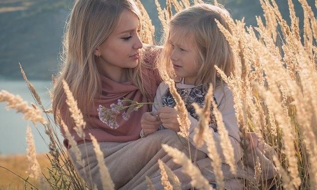 blijven praten met kind na scheiding