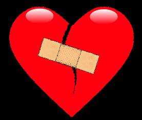 Gebroken harten door scheiding