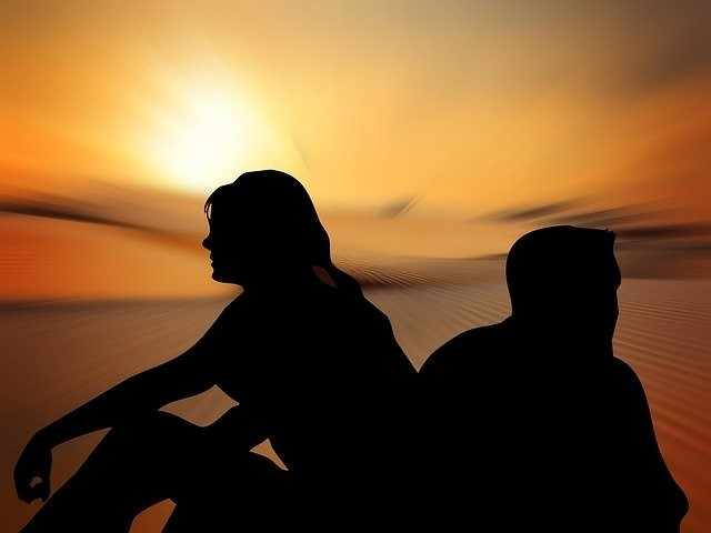 Scheiding door burnout