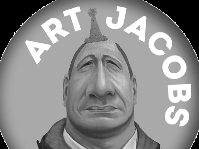 logo art jacobs - rene jacobs