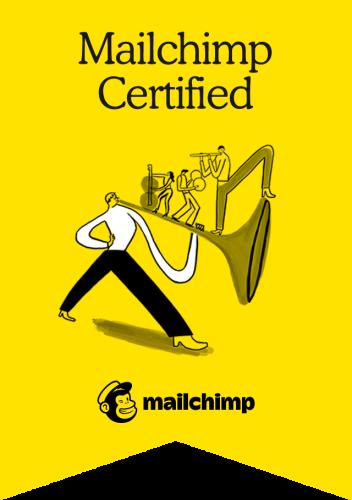 Mailchimp certificate - Mailchimp expert - saskia smit