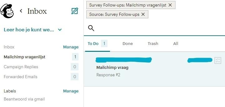 voorbeeld mailchimp inbox