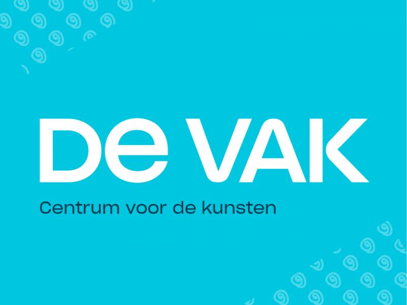 Logo De VAK, centrum voor de kunsten Delft
