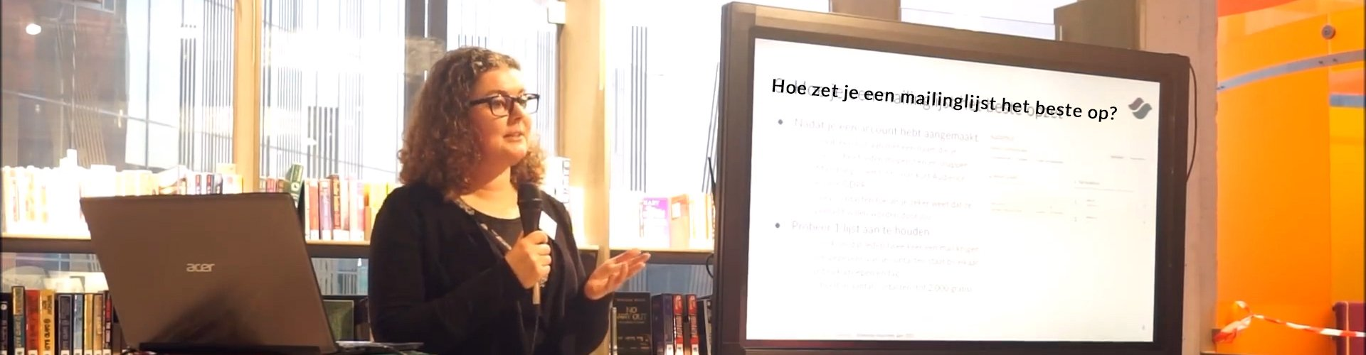 Mailchimp presentatie Saskia Smit