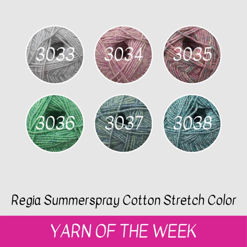 Regia Summerspray Cotton Stretch Color