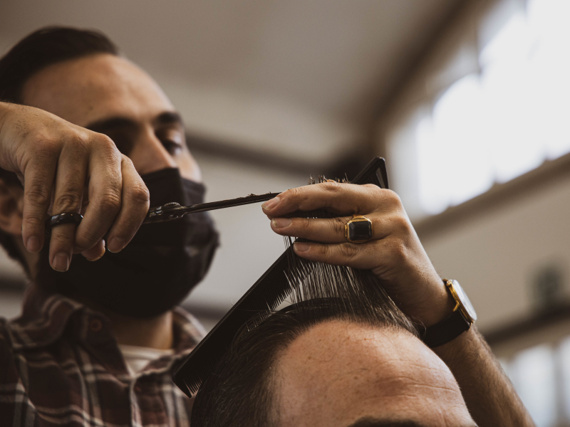 Barber Parlour knippen Rotterdam