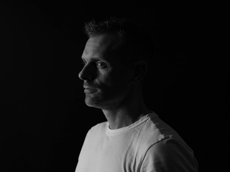 portret zwart wit man sbcreative