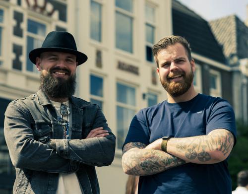 Sander en Buck Socialbeards