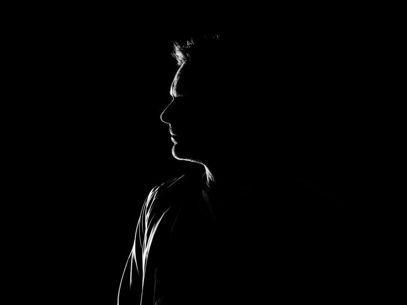 silhouet man in studio sbcreative