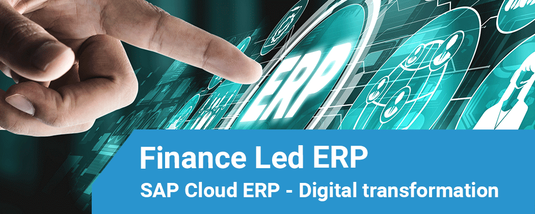 Finance Led ERP SAP Cloud ERP