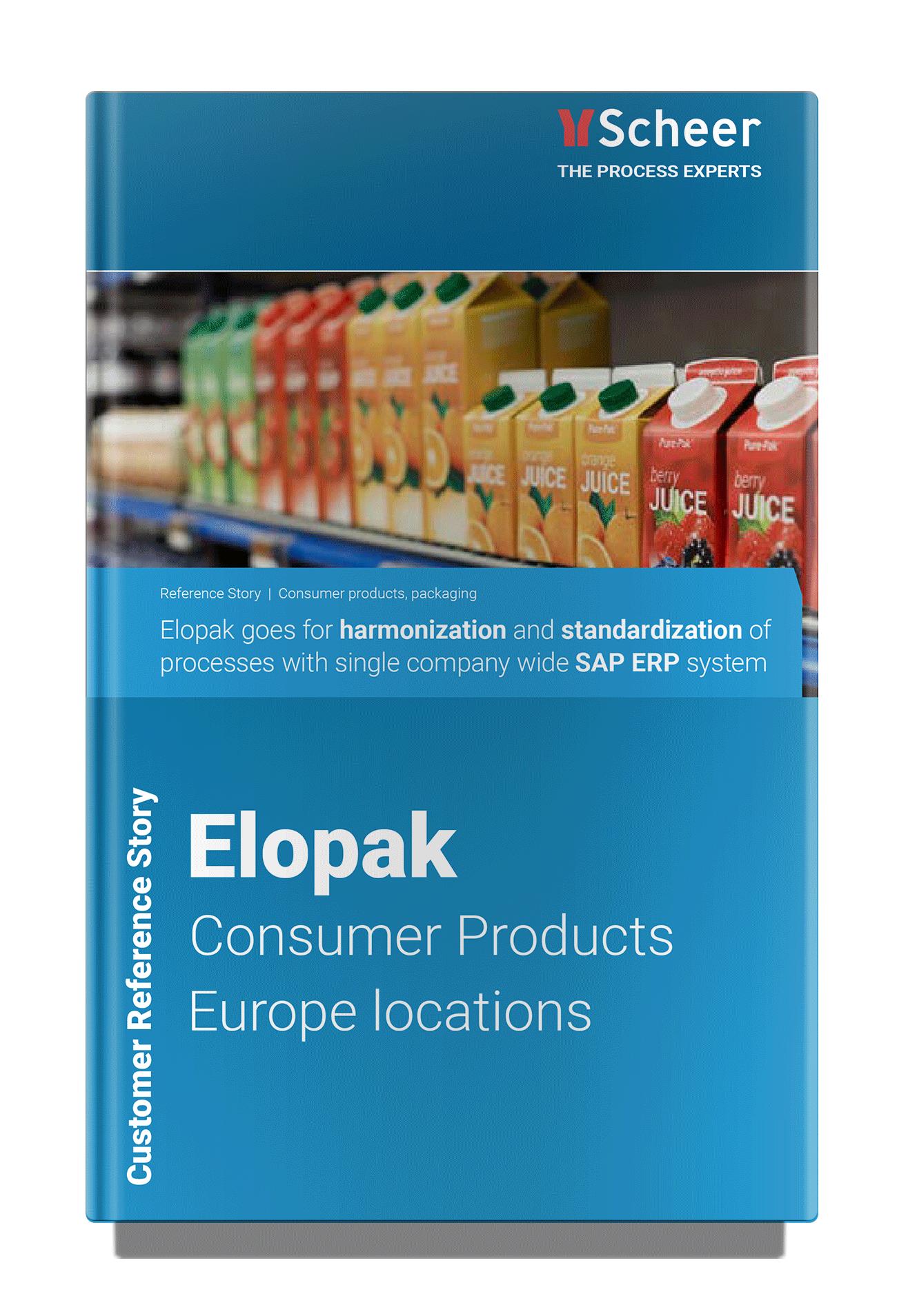 Customer Reference Story Elopak