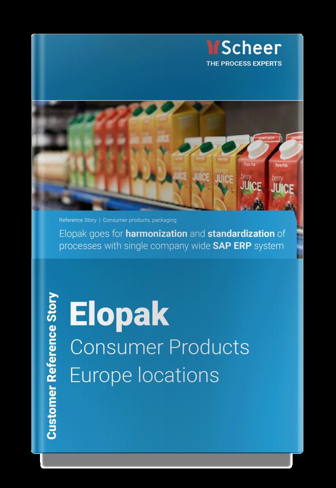 Customer Reference Elopak