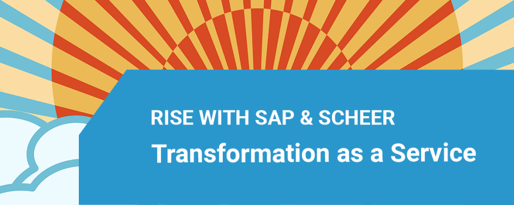 SAP Launches RISE with SAP - Business Transformation as a Service