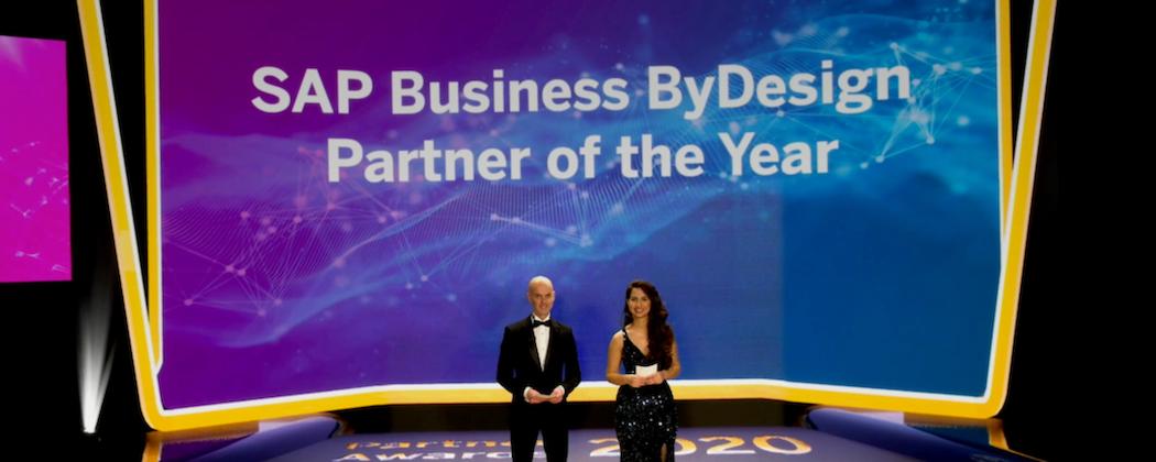 Scheer wins SAP Partner Award 2020: SAP Business ByDesign Partner of the Year
