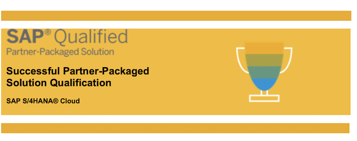 SAP Qualified Package Certificate Manufacturing