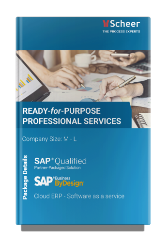 Ready for Purpose Professional Services SAP ByDesign