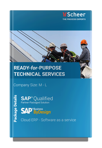 Ready for Purpose Technical Services SAP ByDesign