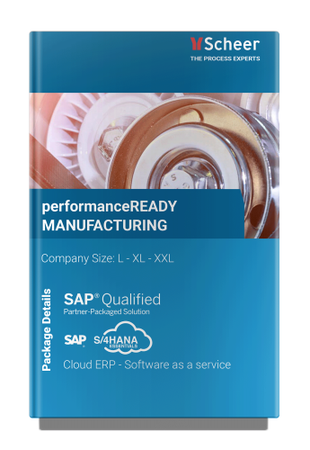 performanceREADY Manufacturing SAP S/4HANA