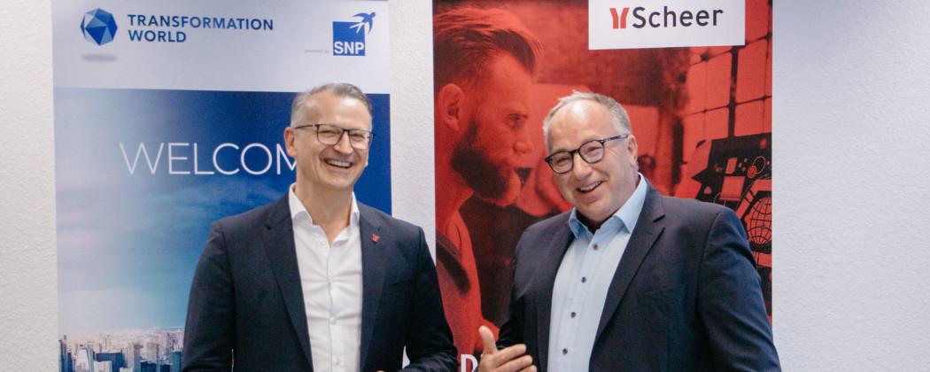 SNP SE and Scheer strategic partnership | CrystalBridge® SNP software