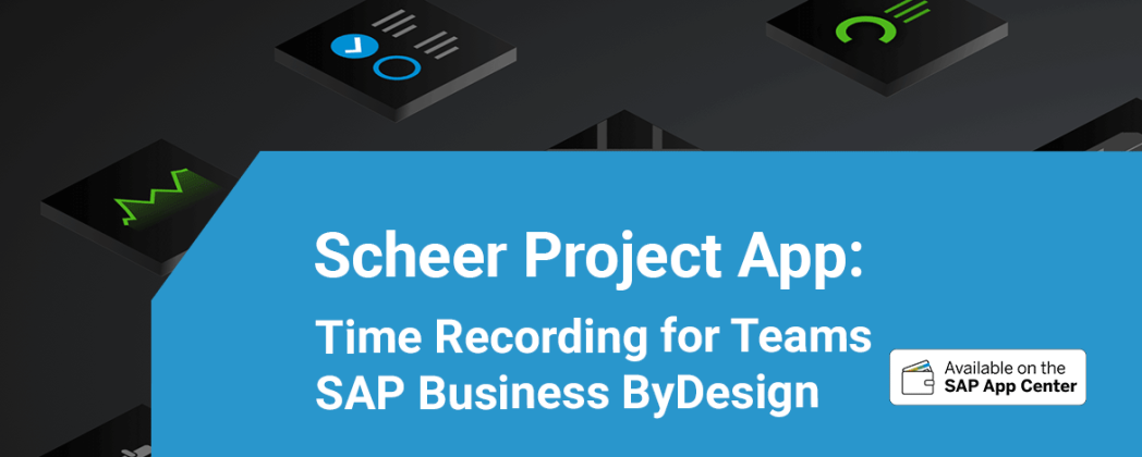Scheer launches Time Recording Team App via the SAP App Center