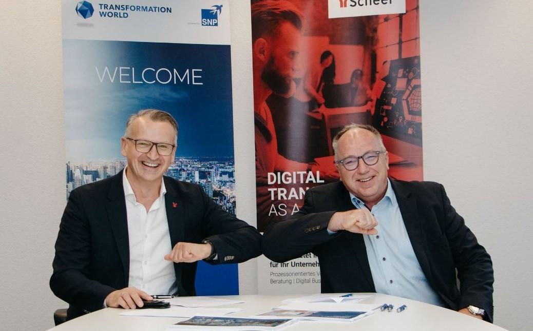 SNP software CrystalBridge and Scheer GmbH partnership for Migrations