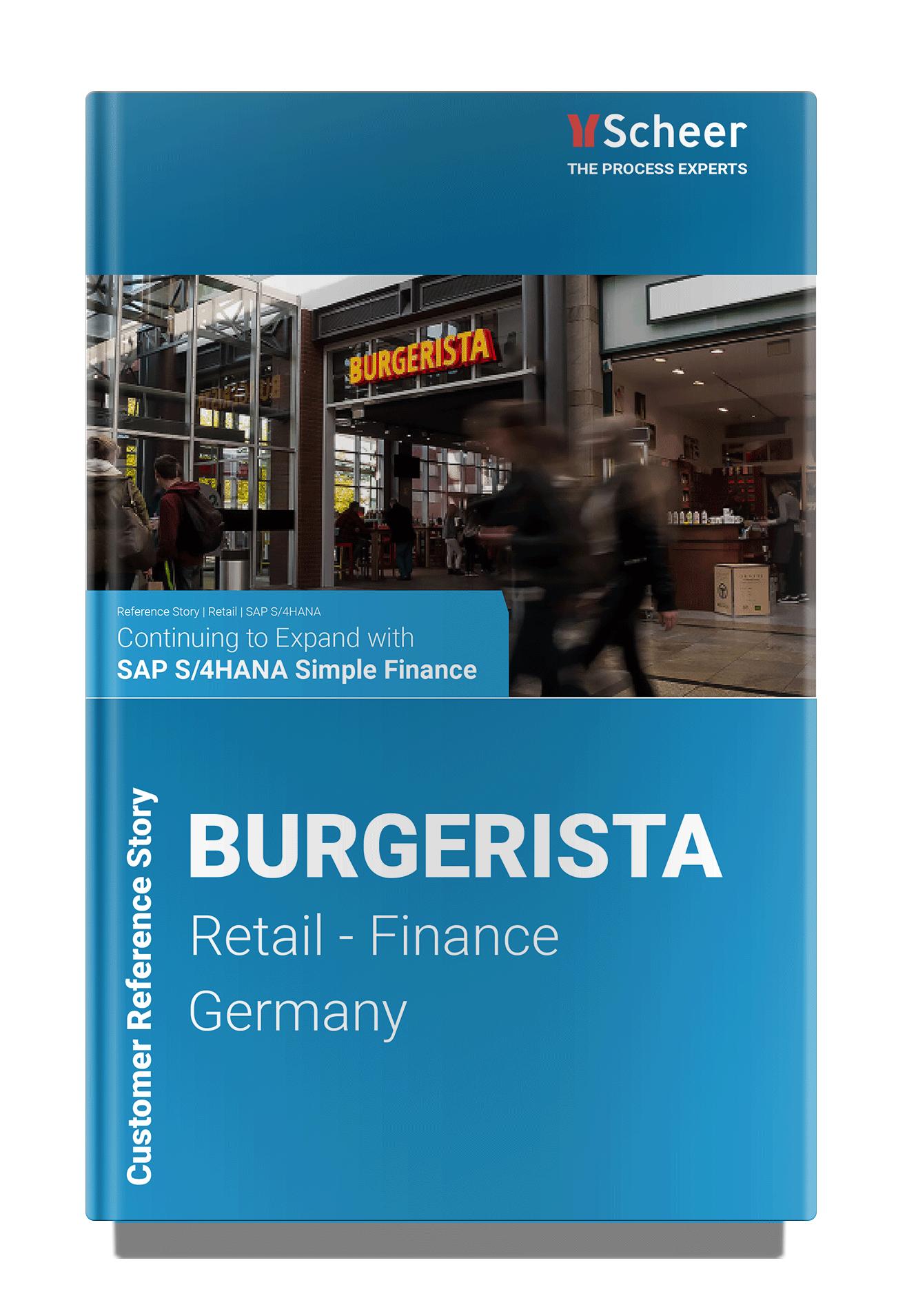 Burgerista | SAP S/4HANA