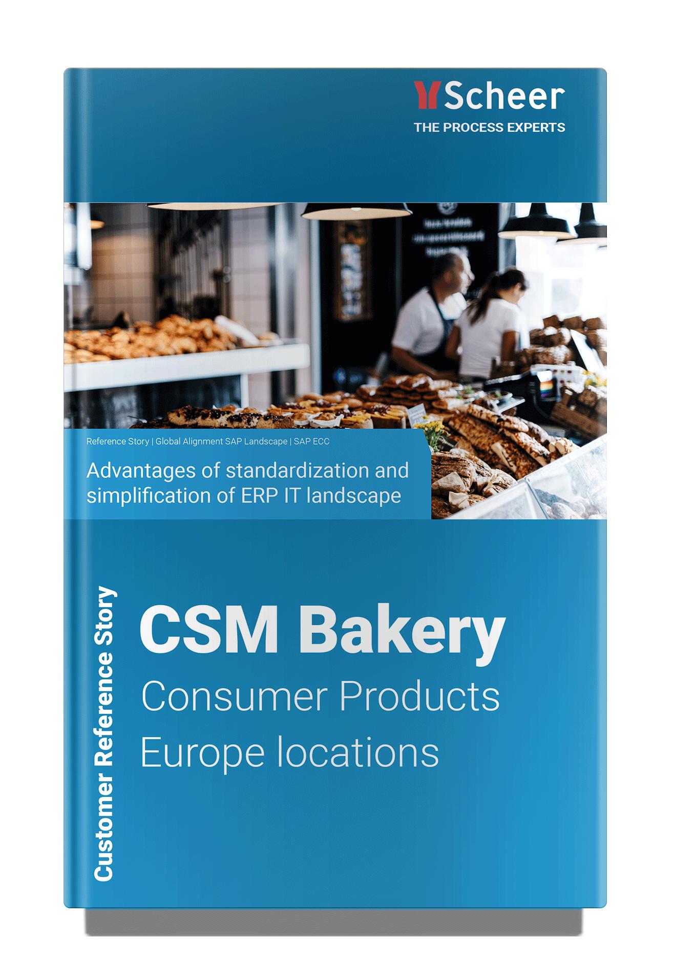 CSM bakery Solutions | SAP HANA