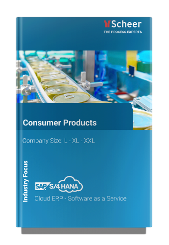 Consumer Products   SAP S/4HANA