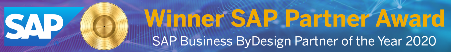 SAP Business ByDesign Partner of the Year 2020
