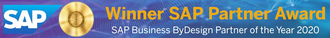 Scheer Partner Award SAP Business ByDesign