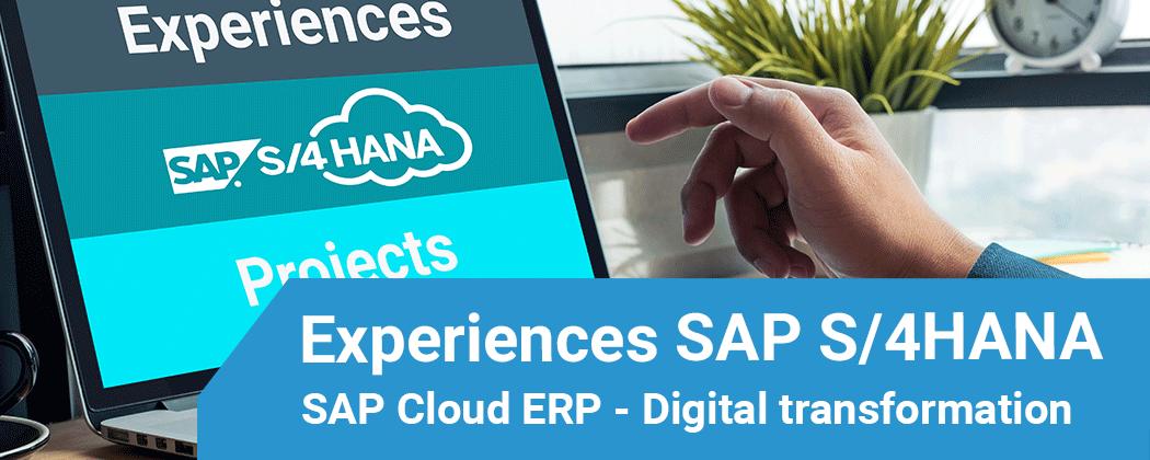 Ervaringen met de inzet SAP S/4HANA Cloud voor business transformaties