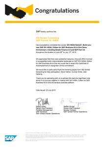 Scheer Certified S/4HANA