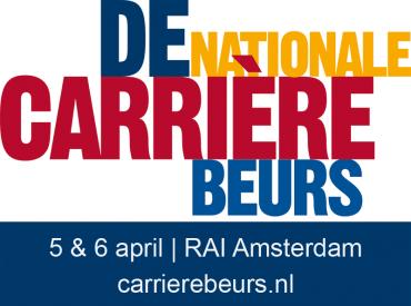 Ontmoet onze collega's op de Carrièrebeurs RAI - Amsterdam op 5&6 april as