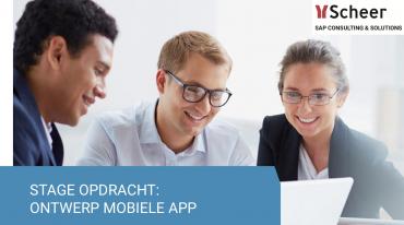 Stagiaireopdracht App Ontwikkelaar